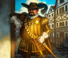 Corrupt Sherif for Talisman The City by feliciacano