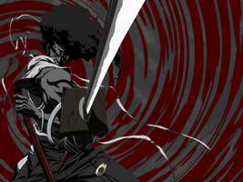 Afro Samurai Wallpaper by dark1010101