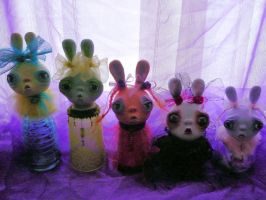 GroupPicture BunnyHunnys by SoDarkSoCute