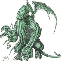 Cthulu by garthpringle