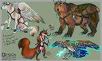 Design Auction- Fantasy critters -CLOSED by AgentWhiteHawk