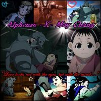Alphonse-X-May Chang: Blinded by Fate -Request- by MakorraLove12