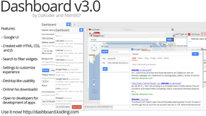 Online Dashboard v3 by DaKoder