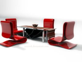 3D table design by janemk