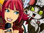 FFXI - Lilisette and Cait Sith by PolishTamales