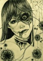 Deaths Flower by WickedHearts4Lyph