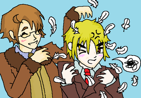 Hetalia--Feather'd by Piquante