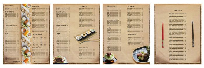 menu by indriand