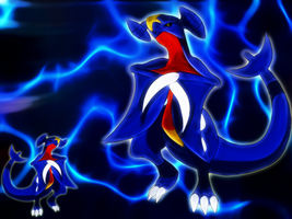 garchomp wallpaper by Elsdrake