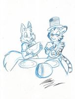 4th Watermelon Picnic - Marc by KennyKitsune
