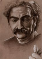 portrait of A maestro by HessamNM