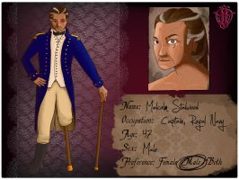 Captain Malcolm Stalwood by VicariousRed