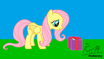 Gift for Fluttershy by NP-90-Rotti