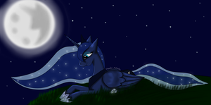 Princess Luna by Invader-Michaela