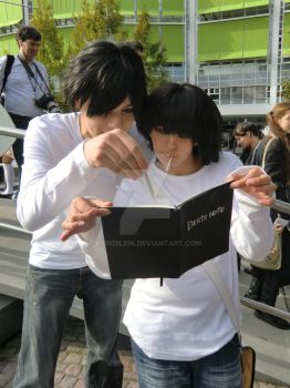Signing the Death Note by Mondilein