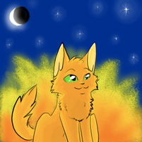 Fire alone will save our clan :3 by SoulCats