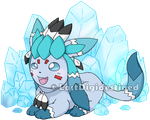 Glaceon by LostDigidestined :3 by WeraHatake