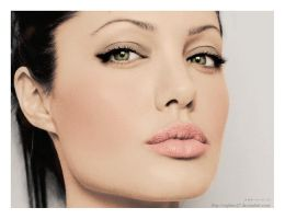 Colorize Angelina Jolie 2 by Sophies27