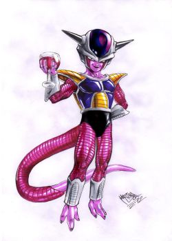 Freeza first form by MatiasSoto