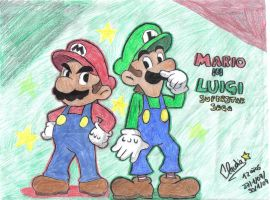 Mario and Luigi:Saga Superstar by diaxa
