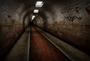 Dark Tunnel by CaptainPixel