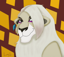 Ghirahim - Lion form by XxElectric-SkefaXx