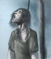The Hanging - painted by cdrake66