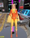 Electra Woman by The-Mind-Controller