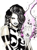 Psylocke by 6nailbomb9