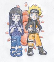 little naruhina by cloudywolf
