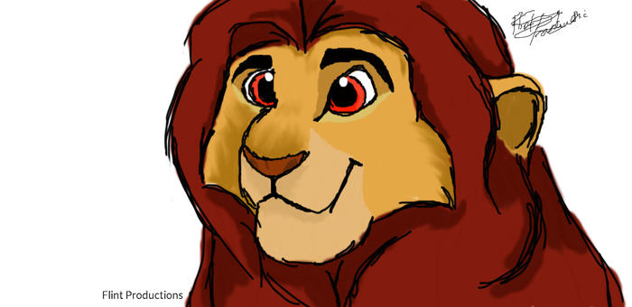 Young Mufasa/Simba by Flint-Productions