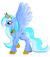 MLP FIM Art Trade: Winter Breeze (My style..kinda) by Lavender-Incense