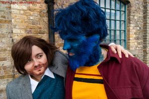 25 Oct MCM LON X-Men DoFP Charles and Beast by TPJerematic