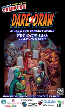 Dare2Draw NYCC 2012 by Dare2Draw