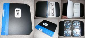 BSG Binder for DVDs and CDs by BSG75