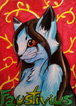 Faustivius Badge by OllyChimera