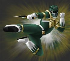 The Green Ranger by Sin-Vraal