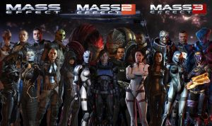 Mass Effect team by JaneShepard89