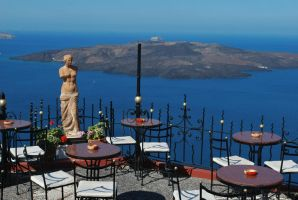 Terrace with a magnificent view by ReneHaan
