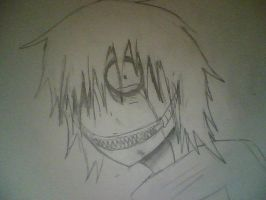 Jeff the killer phyco moment by JazminHopkins