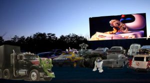 Drive-in Movie by Jax1776