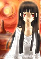 Enma Ai: Hell Girl by noodlemie