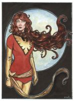 Jean Grey Phoenix from Xmen... by ssava