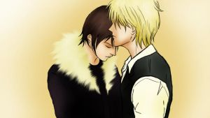 Shizuo and Izaya by StephanyHardy