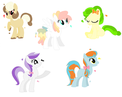 Pony batch 1 by NeverAdoptables