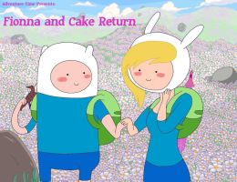 Fionna and Cake Return cover (2012) by TohruOnigriHonda865