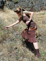Steampunk Scavenger - Full View 3 by lupagreenwolf
