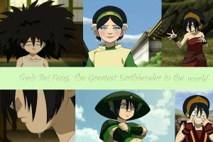 toph the earthbender by kataanggirl4life