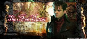 The Mad Hatter Tumblr Background by OnceUponAParadise