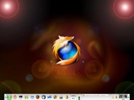Linux screenshot by davdiana
